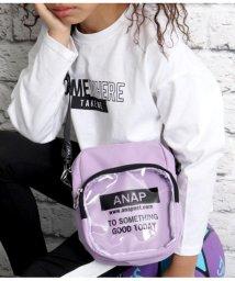 ANAP KIDS/ロゴショルダーバッグ/503054655
