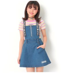 ANAP GiRL/ハートジップ付ジャンパースカート/503054682