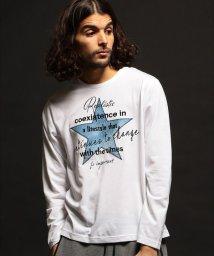 RATTLE TRAP/デニム刺繍ロングスリーブTシャツ/503054701