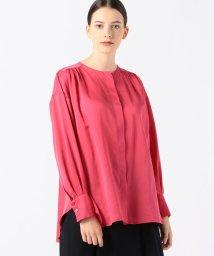 Ballsey/コットンシルク バックギャザーシャツ/503055951