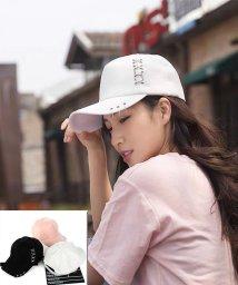 seiheishop/三連リングピアスキャップ UVカット 帽子夏 旅行人気 運動会 男女兼用/503056379