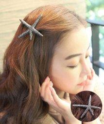 seiheishop/バレッタ シンプル ヘアアクセサリー ゴールド髪留め まとめ髪 海星モチーフ/503056382