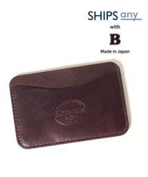 SHIPS any MENS/【Begin5月号 掲載】SHIPS any×Begin: 別注 クレイジーカラー HORWEEN カードケース/503056966