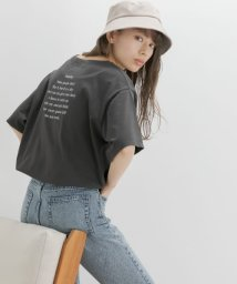 URBAN RESEARCH Sonny Label/【WEB限定】バックプリントルーズTシャツ/503057096