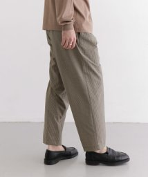 URBAN RESEARCH DOORS/Scye Wool Pleated Beltless Pants/503057201