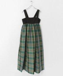 URBAN RESEARCH DOORS/Scye CottonLinenPlaidS/Dress/503057203