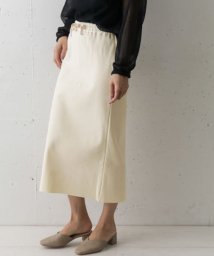 URBAN RESEARCH DOORS/Traditional Weatherwear DRAW STRING LONG SKIRT/503057359