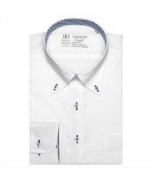 BRICKHOUSE/ワイシャツ 長袖 形態安定 レイヤードクール ボタンダウン スリム メンズ/503057434