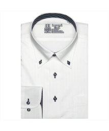 BRICKHOUSE/ワイシャツ 長袖 形態安定 レイヤードクール ボタンダウン 標準体 メンズ/503057437