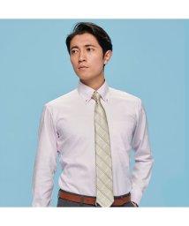 BRICKHOUSE/ワイシャツ 長袖 形態安定 レイヤードクール ボタンダウン 標準体 メンズ/503057444
