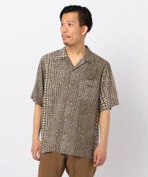 GLOSTER/【Jams/ジャムス】レーヨン オープンカラーシャツ/503011247