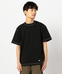 GLOSTER/【DANTON/ダントン】ロゴ刺しゅう Tシャツ/503028006