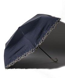 pink trick/完全遮光 晴雨兼用 3段折りたたみ傘 トゥインクルスター 遮光率100% 遮蔽率100% 1級遮光 遮熱 軽量 UVカットネイビー /503038543