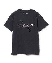BEAMS MEN/SATURDAYS SURF NYC × BEAMS / 別注 プリントTシャツ 20SS/503043501
