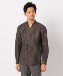 Stutostein/スキッパーバンドカラーシャツ/503046278