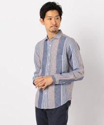 GLOSTER/French linen フレンチリネン カッタウェイ シャツ/503046285