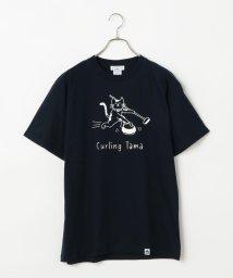 POCHITAMA LAND/Curling Tama Tシャツ/503046323