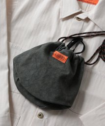 GLOSTER/【UNIVERSAL OVERALL/ユニバーサルオーバーオール】タイダイ巾着 BAG ポーチ/503046358