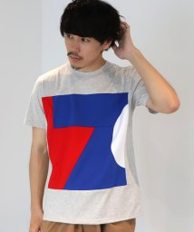 BEAMS MEN/ALOYE / Color Block TEE 20SS/503057871