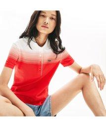 LACOSTE/Made In Flance オーガニックコットン グラデーションデザインポロシャツ (半袖)/503057980