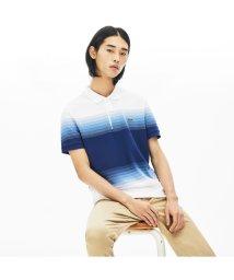 LACOSTE Mens/レギュラーフィット Made In Franceオーガニックコットンピケカラーブロックポロシャツ (半袖)/503058006