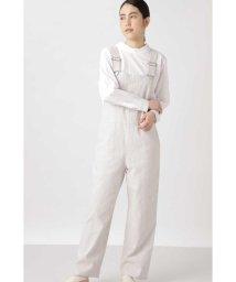 HUMAN WOMAN/≪Japan Couture≫リネンコットンオーバーオール/503058312