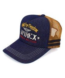 TopIsm/AVIREX(アビレックス)ナンバリング刺繍メッシュキャップ/503058447