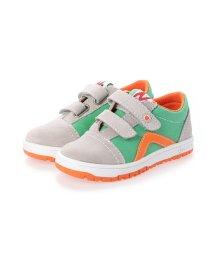 EU Comfort Shoes/ヨーロッパコンフォートシューズ EU Comfort Shoes Narurino  ベビーローカットスニーカー (グレー/グリーン)/503059339