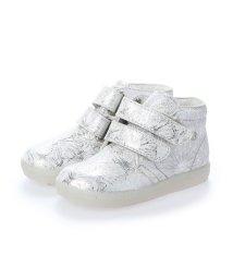 EU Comfort Shoes/ヨーロッパコンフォートシューズ EU Comfort Shoes Naturino ベビーハイカットスニーカー (シルバー)/503059352