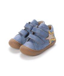 EU Comfort Shoes/ヨーロッパコンフォートシューズ EU Comfort Shoes Naturino ベビーハイカットスニーカー (ブルー)/503059424