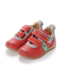 EU Comfort Shoes/ヨーロッパコンフォートシューズ EU Comfort Shoes Narurino  ベビーローカットスニーカー (レッド)/503059435