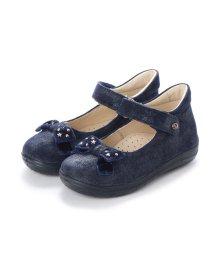 EU Comfort Shoes/ヨーロッパコンフォートシューズ EU Comfort Shoes Naturino ベビーパンプス (ネイビーラメ)/503059480