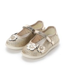 EU Comfort Shoes/ヨーロッパコンフォートシューズ EU Comfort Shoes Naturino ベビーパンプス (ゴールド)/503059506