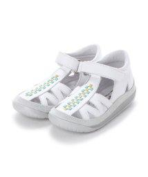 EU Comfort Shoes/ヨーロッパコンフォートシューズ EU Comfort Shoes Naturino ベビーサンダル (ホワイト)/503059522