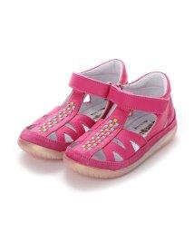 EU Comfort Shoes/ヨーロッパコンフォートシューズ EU Comfort Shoes Naturino ベビーサンダル (ショッキングピンク)/503059525
