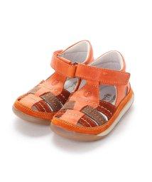 EU Comfort Shoes/ヨーロッパコンフォートシューズ EU Comfort Shoes Naturino ベビーサンダル (オレンジ)/503059531