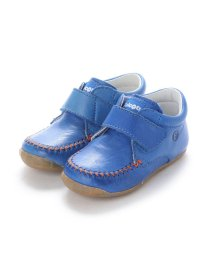 EU Comfort Shoes/ヨーロッパコンフォートシューズ EU Comfort Shoes Naturino ベビーハイカットスニーカー (ブルー)/503059542