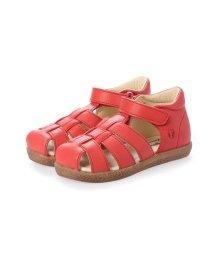 EU Comfort Shoes/ヨーロッパコンフォートシューズ EU Comfort Shoes Naturino ベビーサンダル (レッド)/503059562