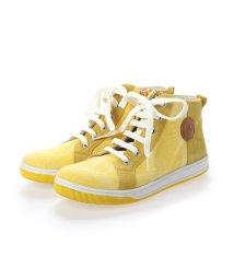 EU Comfort Shoes/ヨーロッパコンフォートシューズ EU Comfort Shoes Naturino キッズハイカットスニーカー (イエロー)/503059632