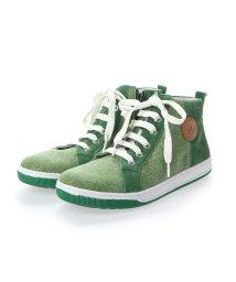 EU Comfort Shoes/ヨーロッパコンフォートシューズ EU Comfort Shoes Naturino キッズハイカットスニーカー (グリーン)/503059633