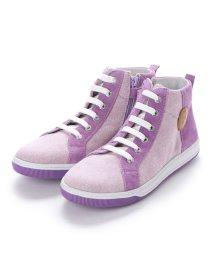 EU Comfort Shoes/ヨーロッパコンフォートシューズ EU Comfort Shoes Naturino キッズハイカットスニーカー (パープル)/503059634