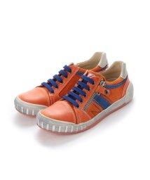 EU Comfort Shoes/ヨーロッパコンフォートシューズ EU Comfort Shoes Naturino キッズローカットスニーカー (オレンジ)/503059651