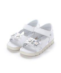 EU Comfort Shoes/ヨーロッパコンフォートシューズ EU Comfort Shoes Naturino キッズサンダル (ホワイト)/503059706