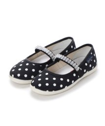 EU Comfort Shoes/ヨーロッパコンフォートシューズ EU Comfort Shoes Naturino キッズパンプス (ブラック/ホワイト)/503059717