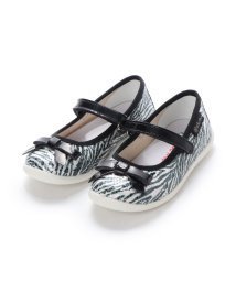 EU Comfort Shoes/ヨーロッパコンフォートシューズ EU Comfort Shoes Naturino キッズパンプス (ゼブラ)/503059718