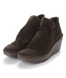 EU Comfort Shoes/ヨーロッパコンフォートシューズ EU Comfort Shoes FLYLONDON ショートブーツ(YIP500.505) (オリーブ)/503060002