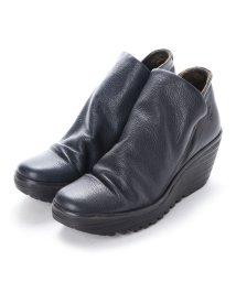 EU Comfort Shoes/ヨーロッパコンフォートシューズ EU Comfort Shoes FLYLONDON ショートブーツ(500.505) (ネイビー)/503060026