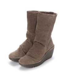 EU Comfort Shoes/ヨーロッパコンフォートシューズ EU Comfort Shoes FLYLONDON ミドルブーツ(500.504) (ベージュ)/503060033