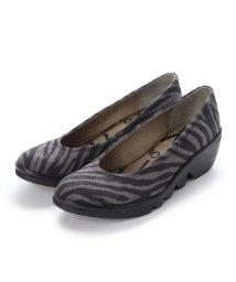EU Comfort Shoes/ヨーロッパコンフォートシューズ EU Comfort Shoes FLYLONDON パンプス(500.424) (ゼブラグレー)/503060047