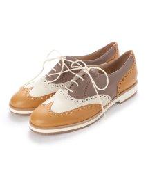 EU Comfort Shoes/ヨーロッパコンフォートシューズ EU Comfort Shoes Palanti  レースアップシューズ(5370) (ベージュ系+ホワイト)/503060093